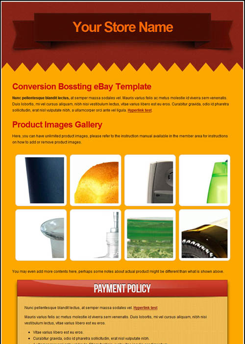 Picture 64 free ebay templates superauctiontemplate for Free ebay templates