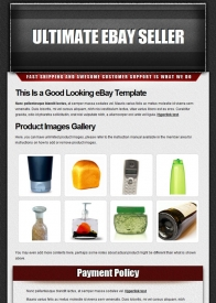 General Shopping eBay Template